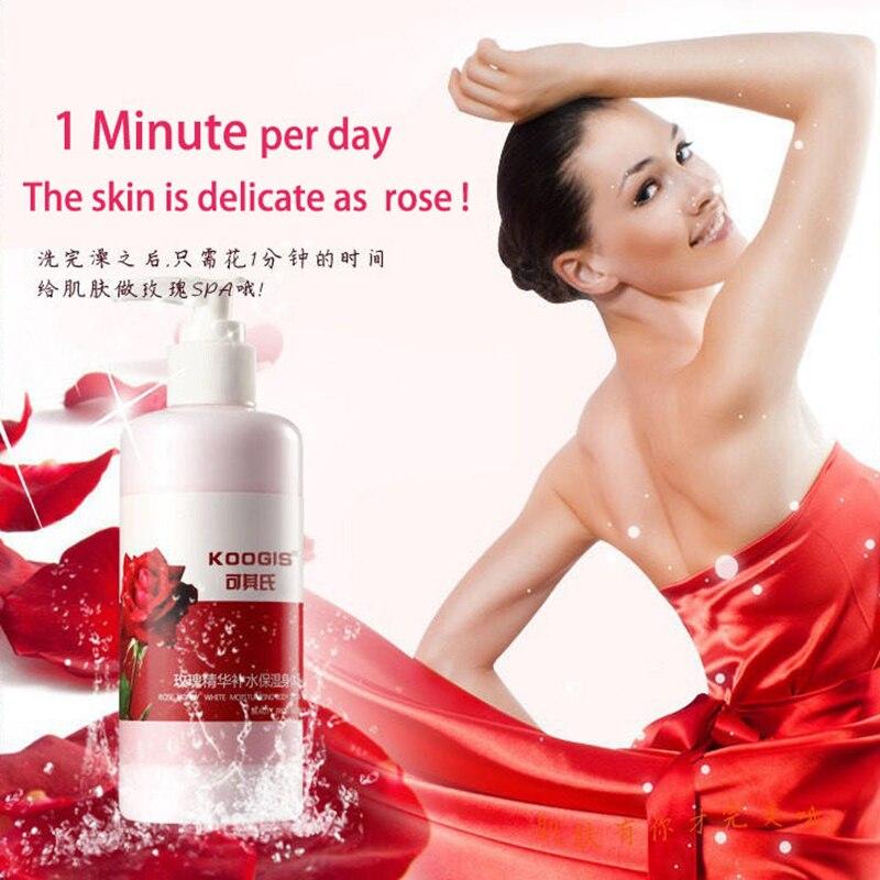 Motivated Koogis Rose Honey White Misturizing Body Lotion Remove Melanin Anti-wrinkle Nourish Body Cream Body Care 240ml
