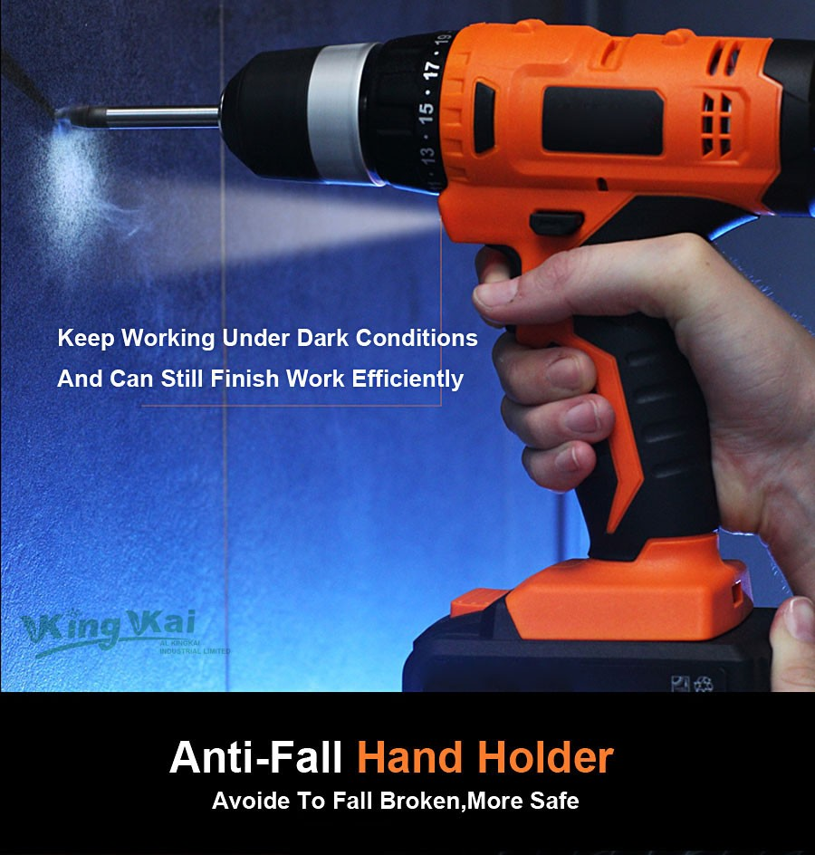 Cordless Lithium Battery Electric Drill-26
