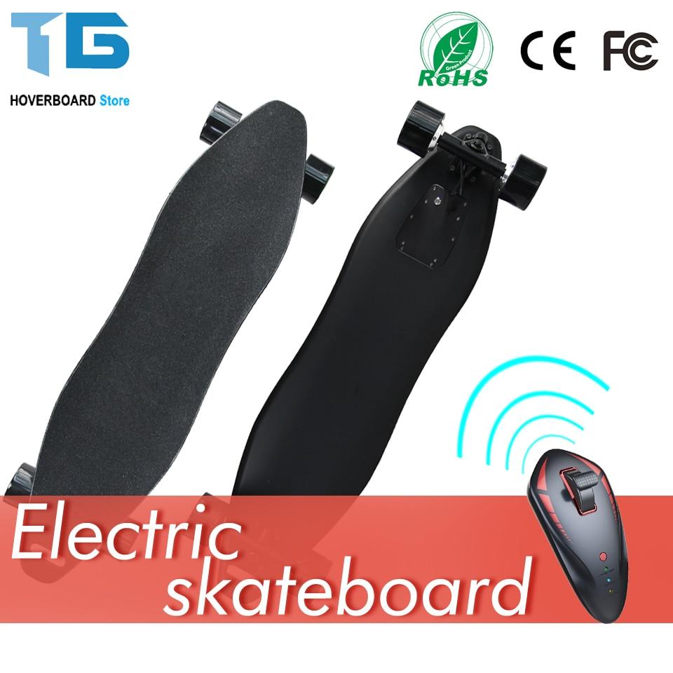 Double Hub Moteur 4 Roues Trottinette Electrique Adulte Scooter Electrique Adulte Citycoco Skate Electrique Scooter Longboard