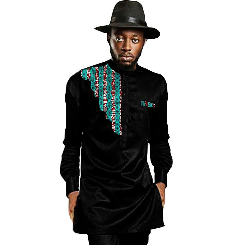 African mens africa clothing men dashiki shirts stand ...