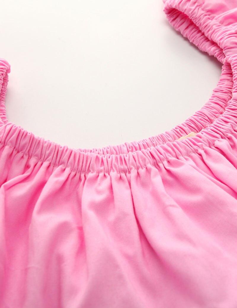 JIOROMY 2019 INS Moda Kız Takım Elbise Üstleri + Kot + Kafa 3 - Çocuk Giyim - Fotoğraf 4