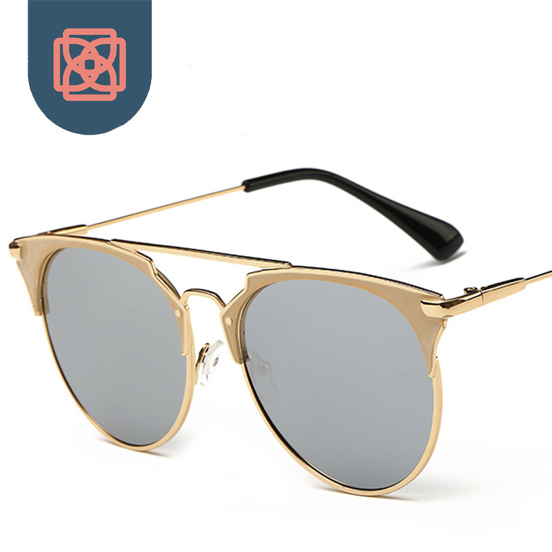 aliexpresscom buy classic club mirrored sunglasses retro gold wire frame sun glasses master eye wear from reliable glasses modern suppliers on didi life