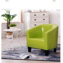 Одноместный диван досуг карта сиденья отель диван для кафе небольшой квартиры ткань кожа сетка кофе диван