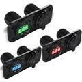 New Moto Motorcycle Car 12V 24V LED Car Cigarette Lighter Socket Dual USB socket Plug Voltmeter vehicle power supply Universal
