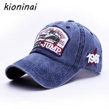 Kioninai saltar 1985 algodón gorra de béisbol hombres Snapback Cap para las  mujeres gorras de béisbol para hombres Casquette hue. df4b9940dae