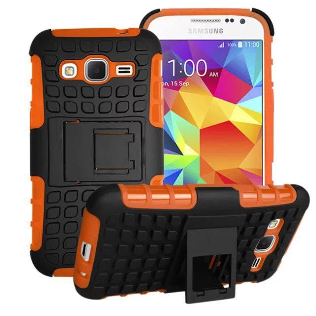 Armor Heavy Duty Case & Stand For Samsung Galaxy Core Prime