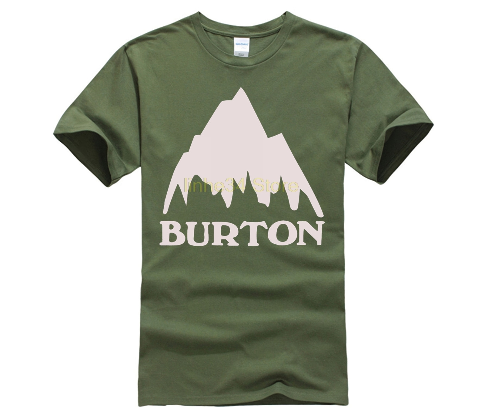100% Quality Burton Snowboards T-shirt Tee Reliable Performance