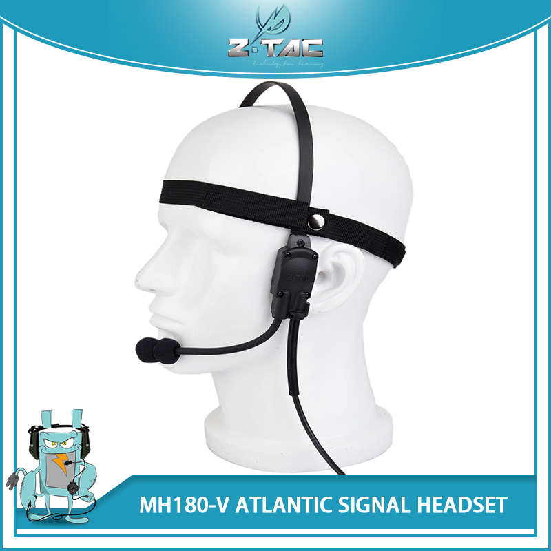 New Arrivals Z Tactical Military Headset Atlantic Signal Headset MH180-V Tactical Sniper Headset System Hunting Headsets Z136 цена