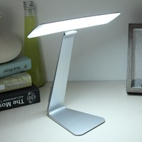 USB Rechargable Ultrathin LED Dimming Touch Reading Table Lamp Student Eye Protection Night Light Desk Lamps