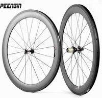 Toray T700 Full Carbon Cycle Wheel 60mm Aro Bike Carbono Tubular Wheelset Road Bike Rims And