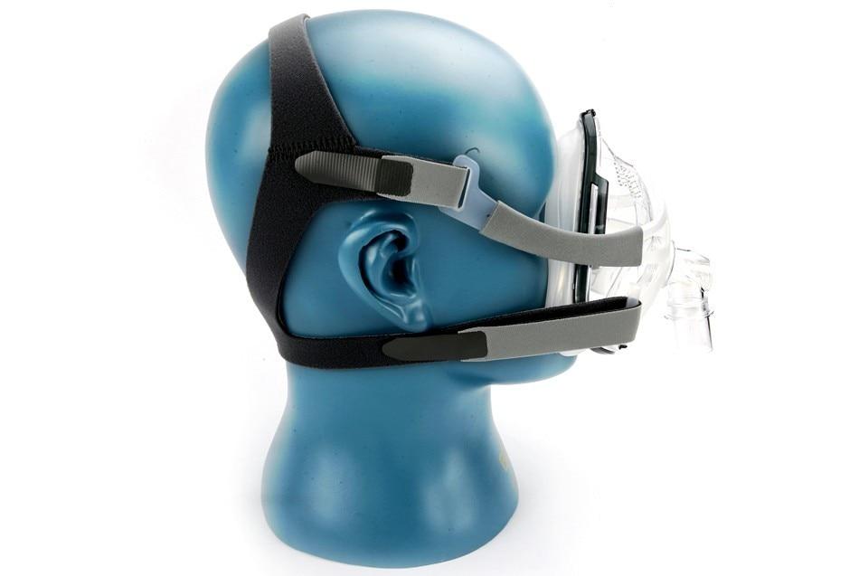 DOCTODDD F1A máscara facial completa para CPAP Auto CPAP APAP Bipap máquina COPD Snoring sueño terapia tamaño SML W/ gorros y sombreros Clips-in Sueño y ronquidos from Belleza y salud    3