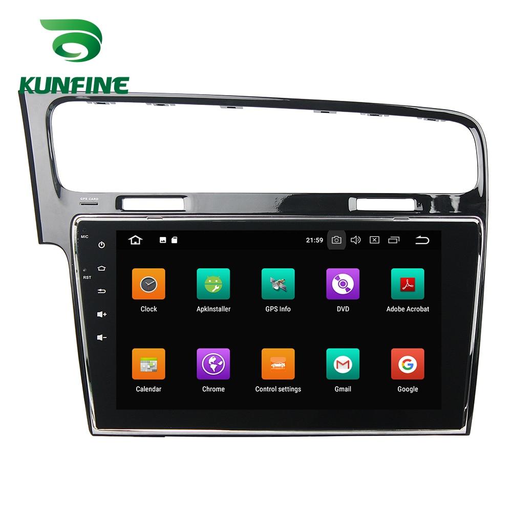 Octa Core 4 GB RAM Android 8.0 voiture DVD GPS Navigation lecteur multimédia voiture stéréo sans défaut pour VW Golf 7 2013-15 Radio Headunit - 2