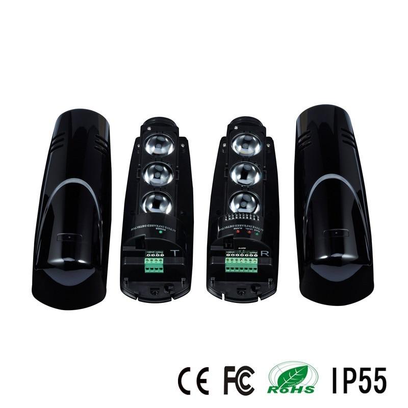 Capteur triple faisceau pour le système d'alarme antivol avec distance de détecteur de 100 m - 2