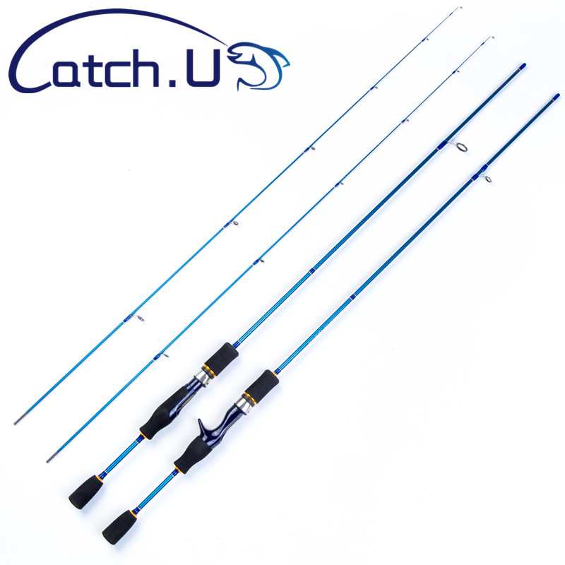catch u 1 8m fishing rod spinning 2 sections fishing rod. Black Bedroom Furniture Sets. Home Design Ideas