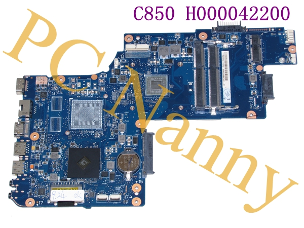 H000042200 FOR TOSHIBA C850 AMD LAPTOP MOTHERBOARD INTEL GMA HD GRAPHICS - GOOD