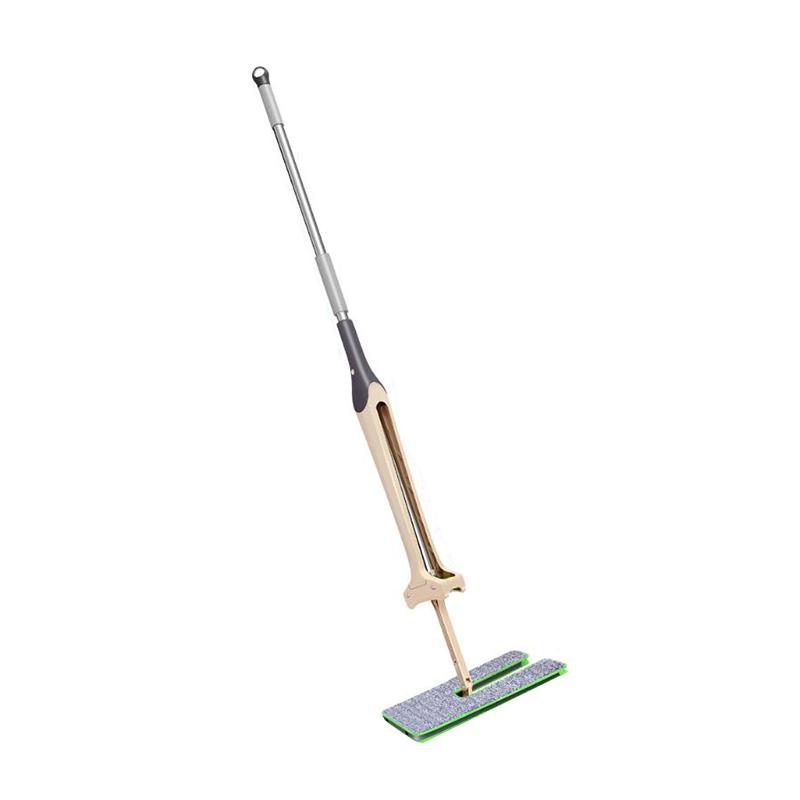 Hand Push Sweeper Stainless Steel Hand-free Squeeze Flatbed Mop Household Plastic Broom Cleaning Tools# new stainless steel sweeping machine push type hand push magic broom dustpan handle household cleaning package hand sweeper