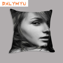 Lips Eyelash Butterfly Fashion Sexy Woman Printed Decorative Cushion Nordic Pillowcase Throw Pillow Case Cover For Sofa