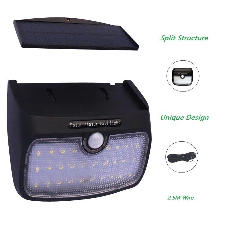 Lâmpadas Solares livre 20/30/48 leds pir sensor Marca : Howpow