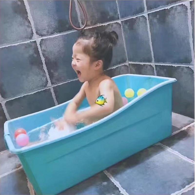 Top quality new oversized bathtub newborn infant child folding baby ...