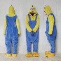 Despicable Me Minion Onesies mameluco pijamas sudaderas con capucha del mono adultos Cosplay disfraces para Halloween y carnaval