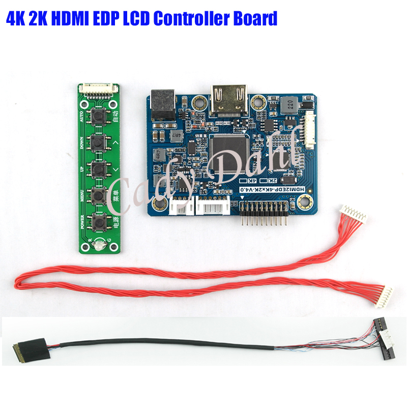 2K HDMI LVDS to EDP Signal Controller Board for Raspberry PI