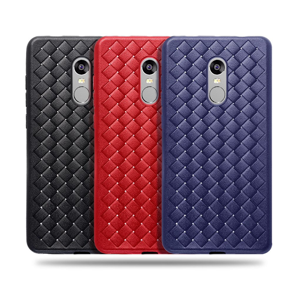 Proelio Ultra Thin Soft Silicone Weave Case For Xiaomi Redmi 4X 5X Note 4 5A Protector Phone Case For Redmi Note 4X Cover Coque  (14)