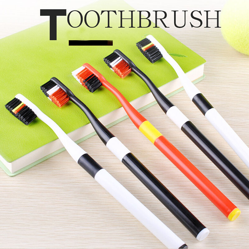 2pcs colorful tooth brush color bristles brush Cleaning teeh brush