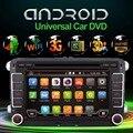 Android 4.4.4 Nueva 7 Pulgadas 2 DIN 800*480 Del Coche DVD GPS Para VW Passat B6/B7 Passat CC con WiFi y Tarjeta libre 8G y mapa