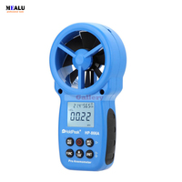 Hp-866a Lcd Digital Anemometer Air Volume Wind Speed Area Temperature Humidity Meter Tester Measurement with Usb