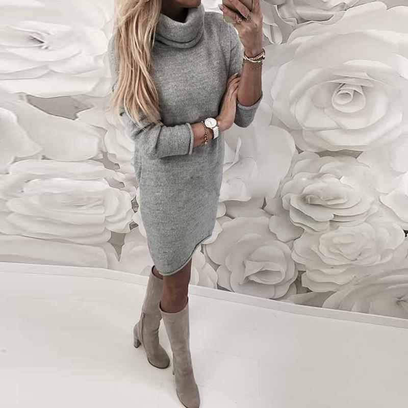 2018-Autumn-Winter-Women-Knitted-Sweater-Dresses-Turtleneck-Bodycon-Slim-Jumper-Vestido-Long-Causal-Pullover-WS5260C (2)