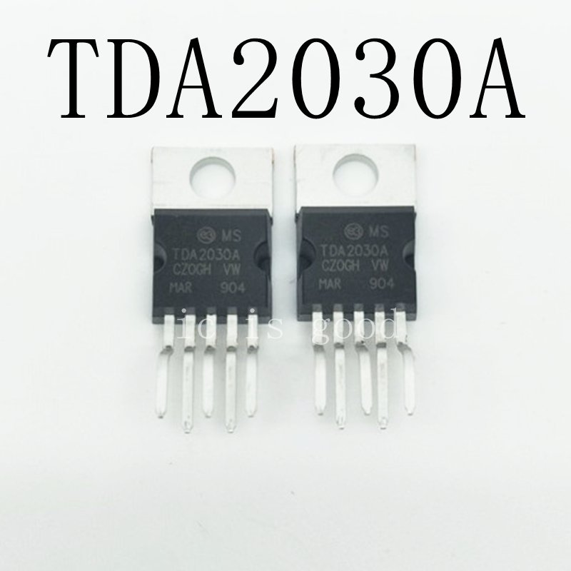 100pcs lot New TDA2030A TO220 5 Audio power amplifier IC TDA2030
