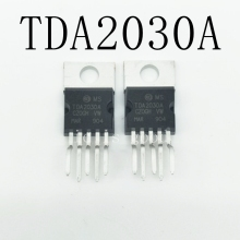 100pcs/lot New TDA2030A TO220-5 Audio power amplifier IC TDA2030