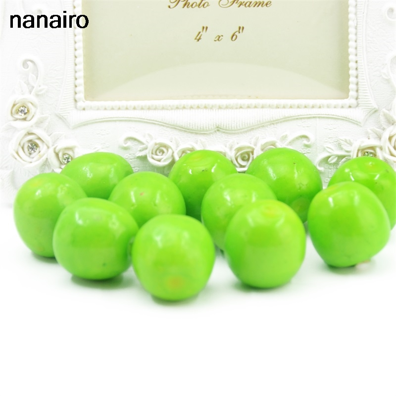20Pcs Artificial Mini Berry Simulated Small Foam Beauty Pretty Fake Artificial Fruits Family And Kitchen Wedding Decoration