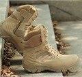Марка Сапоги Мужчины Desert Combat Открытый Армия Походы Путешествия Botas Обувь Кожа Осень Зима Мужчины Сапоги Zapatillas 2015