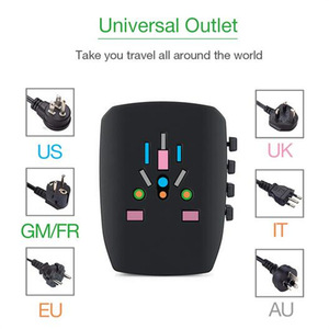 Image 3 - TESSAN All In One International Travel Plug Adapter Wall Charger with 4 USB Ports Universal AC Outlet Plugs Universal Adapter
