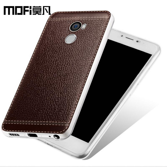 finest selection 2d4bf 8828d US $7.15 |xiaomi mi redmi 4 pro case ultra thin luxury back cover mofi  original redmi4 2gb ram case cover matte silicone coque funda slim-in  Fitted ...
