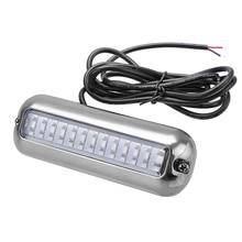 39 LED 5,2 watt Unterwasser Ponton Boot Heck Licht 12 v Weiß Blau Marine Boot Yacht Licht 316SS Abdeckung Wasserdicht