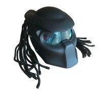 Masei 2017 Bright Grey Matte Black 4 Colors Predators Helmet Mask Fiberglass Motorcycle Iron Man Helmet