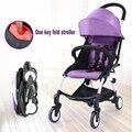 En la Acción de Viaje Cochecito de Bebé paraguas súper ligero plegable del coche del niño del bebé de bolsillo pequeña carretilla 14 colores