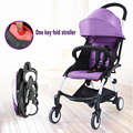 In Stock Travel Baby Stroller super light umbrella car folding baby child pocket small wheelbarrow 14 colors