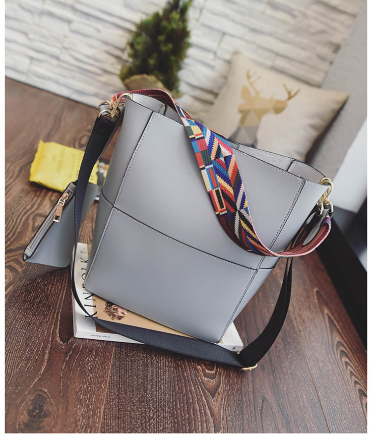 Aliexpress.com : Buy Color wide shoulder straps Shoulder bag for ...