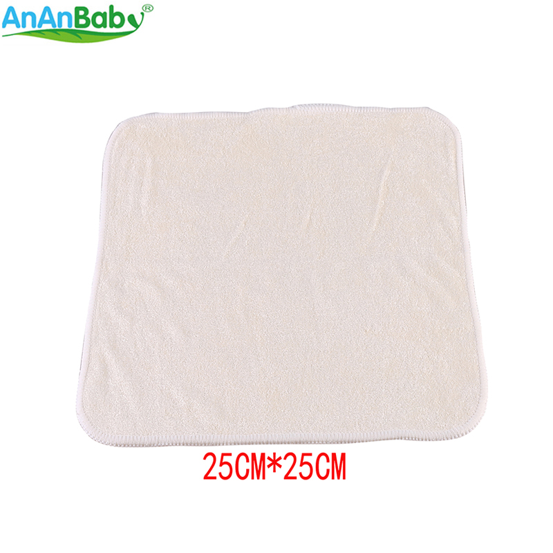 Ananbaby 100% Bamboo Breathable Super-Soft Wipes Clearance Towel Reusable Baby Wipes Size 25cm X 25cm