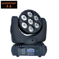 TP L641 7x12 Вт Cree LED перемещение головы луч света, супер яркость RGBW Moving Head луч света угол 8 градусов 15 DMX канала
