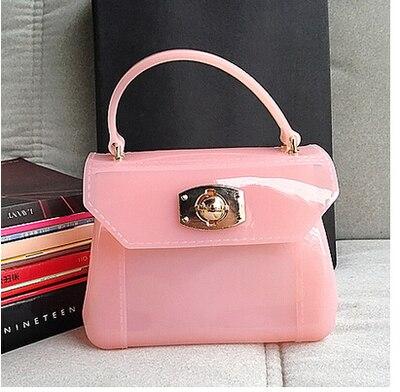 Mujeres Messenger bag bolsos de dulces furly jalea teléfono Sandy beach mini bol