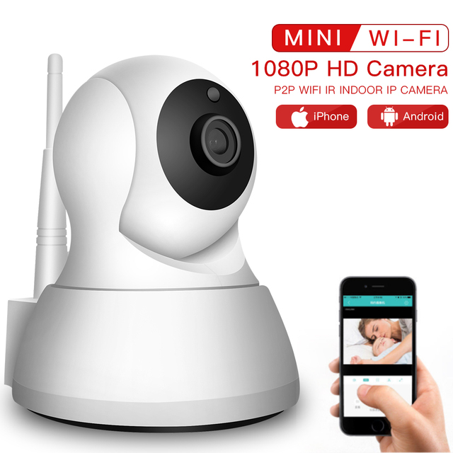SDETER Wireless Pet Camera 1080P WiFi Camera IP CCTV Surveillance Security Camera P2P Night Vision Baby Monitor Indoor 720P Cam