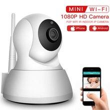 Sdecter caméra de Surveillance IP WiFi 1080P, caméra de sécurité sans fil, babyphone vidéo intérieure, Vision nocturne P2P