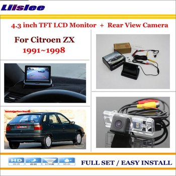 """Liislee For Citroen ZX 1991~1998 Auto Rear View Camera Back Up + 4.3"""" LCD Monitor = 2 in 1 Parking Assistance System"""