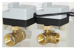 Image 5 - مفتاح كهربائي لتدفّق المياه الكرة 3 طريقة واحدة صمام بوشون اتجاهين ثلاثة أسلاك اثنين التحكم AC220V لولبة داخلية سبايك أدوات التكييف
