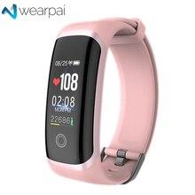 Wearpai fitness tracker M4 blood pressure smart bracelet heart rate monitor sport smartwatch for men and women waterproof IP67