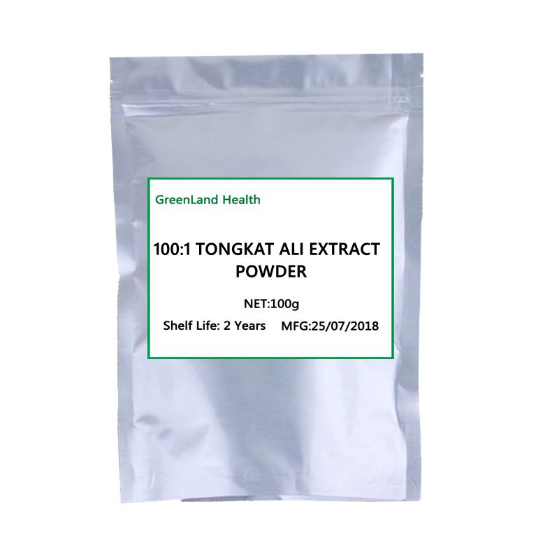 цена на Tongkat Ali Extract powder 100:1,strengthen the kidney,Sexual Enhancement Ingredients,free shipping